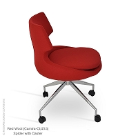 Patara Spider Chair with Caster | SohoConcept