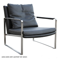 Zara Arm Chair Leather | SohoConcept