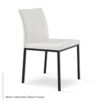 Zeyno Metal Dining Chair | SohoConcept