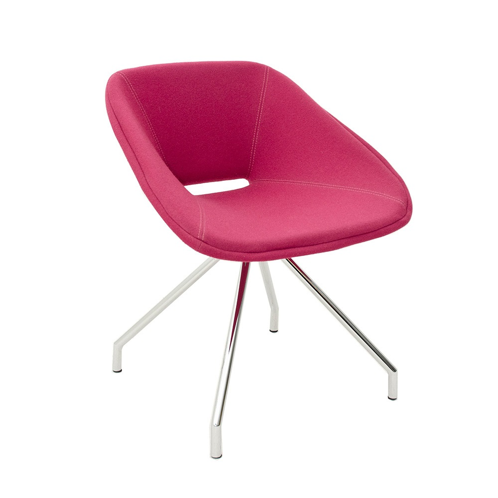 Red Swivel Chair | B&T