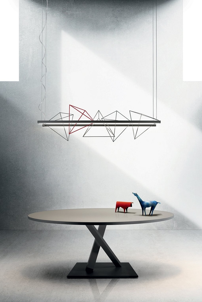 Rock Garden Linear Pendant Light | Pallucco