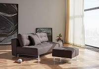 Supremax Deluxe Excess Lounger Sofa Bed, Chrome | Innovation USA