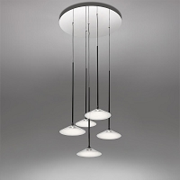 Orsa 21 Chandelier 5x7W Suspension | Artemide