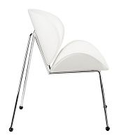 Match Occasional Chair in White set of 2 | Zuo