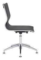 Glider Conference Chair in Black | Zuo
