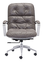 Avenue Office Chair in Vintage Gray | Zuo
