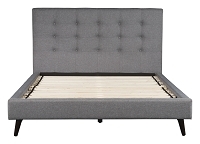 Modernity Queen Bed in Gray | Zuo