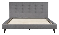 Modernity King Bed in Gray | Zuo