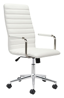 Pivot Office Chair in White | Zuo