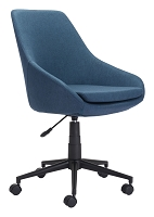 Powell Office Chair in Blue | Zuo