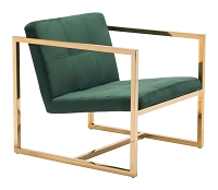 Alt Arm Chair in Green | Zuo