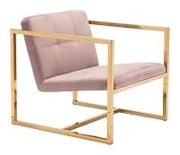 Alt Arm Chair in Pink | Zuo