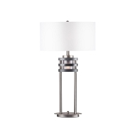 Kobe Table Lamp Charcoal Gray | Nova
