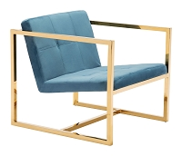 Alt Arm Chair in Blue | Zuo