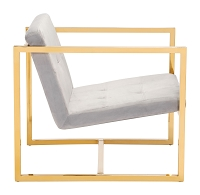 Alt Arm Chair in Gray | Zuo