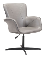 Alain Arm Chair in Gray | Zuo