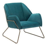 Stanza Arm Chair in Green | Zuo