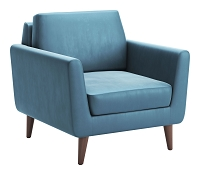 Mirabelle Arm Chair in Teal | Zuo