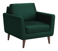 Mirabelle Arm Chair in Green | Zuo