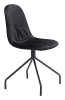 Slope Chair in Black set of 2 | Zuo