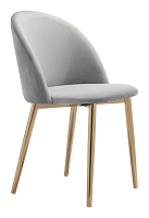 Cozy Dining Chair in Gray set of 2 | Zuo