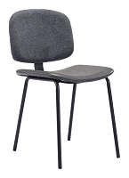 Worcester Chair in Gray set of 2 | Zuo