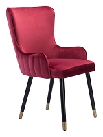 Paulette Chair in Red | Zuo