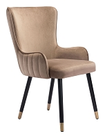 Paulette Dining Chair in Brown | Zuo