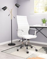 Primero Office Chair White | Zuo Modern