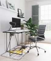 Liderato Office Chair Gray | Zuo Modern