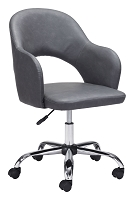 Planner Office Chair Gray | Zuo Modern