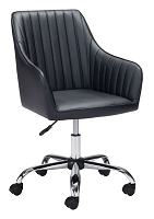 Curator Office Chair in Black | Zuo