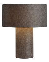 Moonlight Fabric Table Lamp Ash | Nova