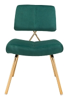 Zuo Modern Nicole Dining Chair Green Set of 2