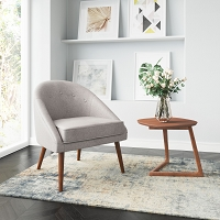 Zuo Modern Cruise Chair Accent Gray