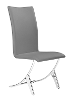 Delfin Dining Chair in Gray set of 2 | Zuo
