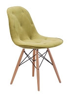 Probability Dining Chair in Green | Zuo