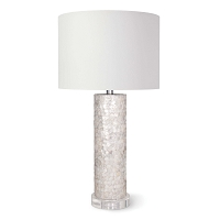 Regina Andrew Scalloped Capiz Table Lamp