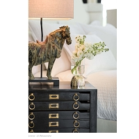 Regina Andrew Dynasty Horse Table Lamps Pair