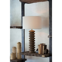 Regina Andrew Accordion Table Lamp Natural