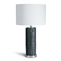 Regina Andrew Blake Ceramic Table Lamp Black
