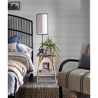 Geo Rectangle Table Lamp in Oil Rubbed Bronze | Coastal Living