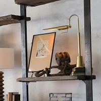 Regina Andrew Raven Task Lamp Natural Brass