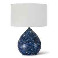 Regina Andrew Sirene Table Lamp Blue