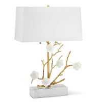 Regina Andrew Cherise Horizontal Table Lamp Gold