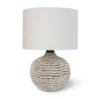 Amelia Table Lamp Natural Linen Shade | Regina Andrew