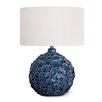 Regina Andrew Lucia Ceramic Blue Table Lamp