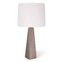 Angelica Concrete Table Lamp Small | Regina Andrew