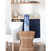 Tide Ceramic Table Lamp | Coastal Living
