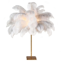 Regina Andrew Josephine Feather Table Lamp